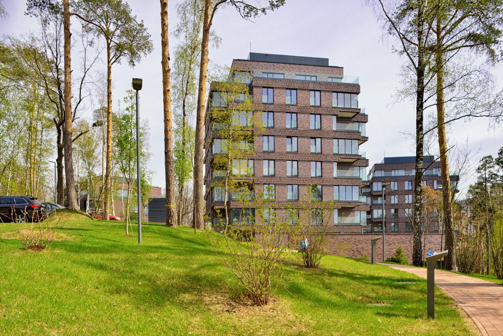 Квартира с отделкой черновая в Парк Рублево